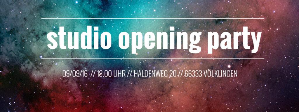 studio242 Eröffnungsparty